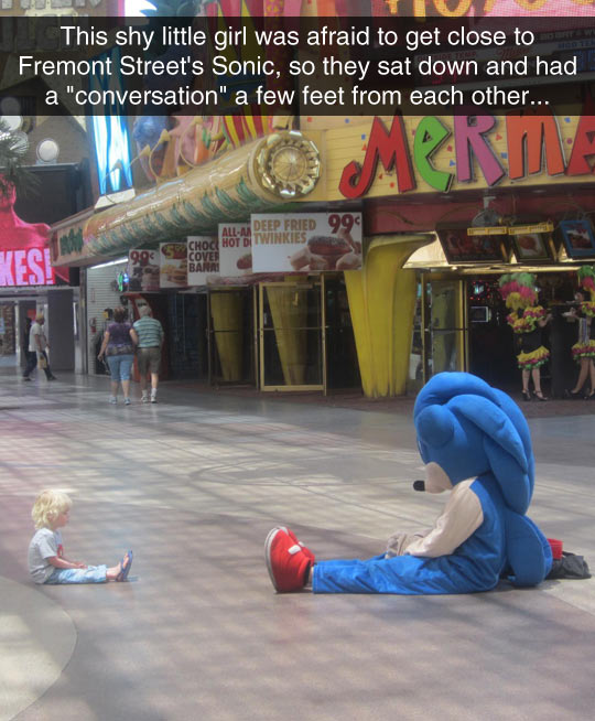 Sonic Is Good With Kids