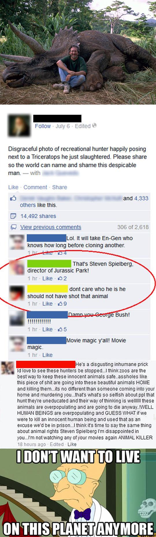 Steven Spielberg Has No Shame
