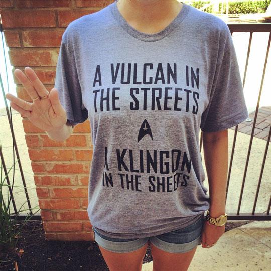 funny-Star-Trek-shirt-Vulcan-Klingon-bed
