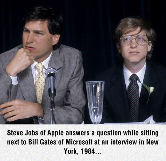 Steve And Bill In An Interview