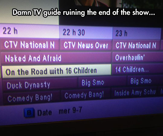 Seriously TV Guide?