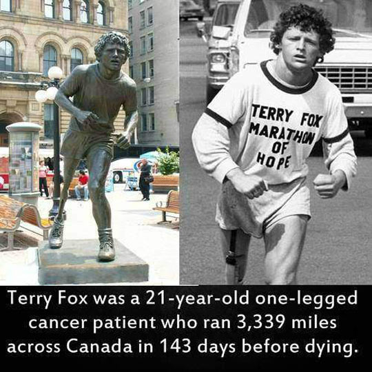 Respect Terry Fox