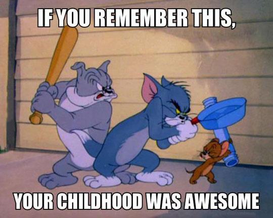 funny-Tom-Jerry-cartoon-childhood