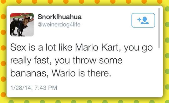 Just Like Mario Kart