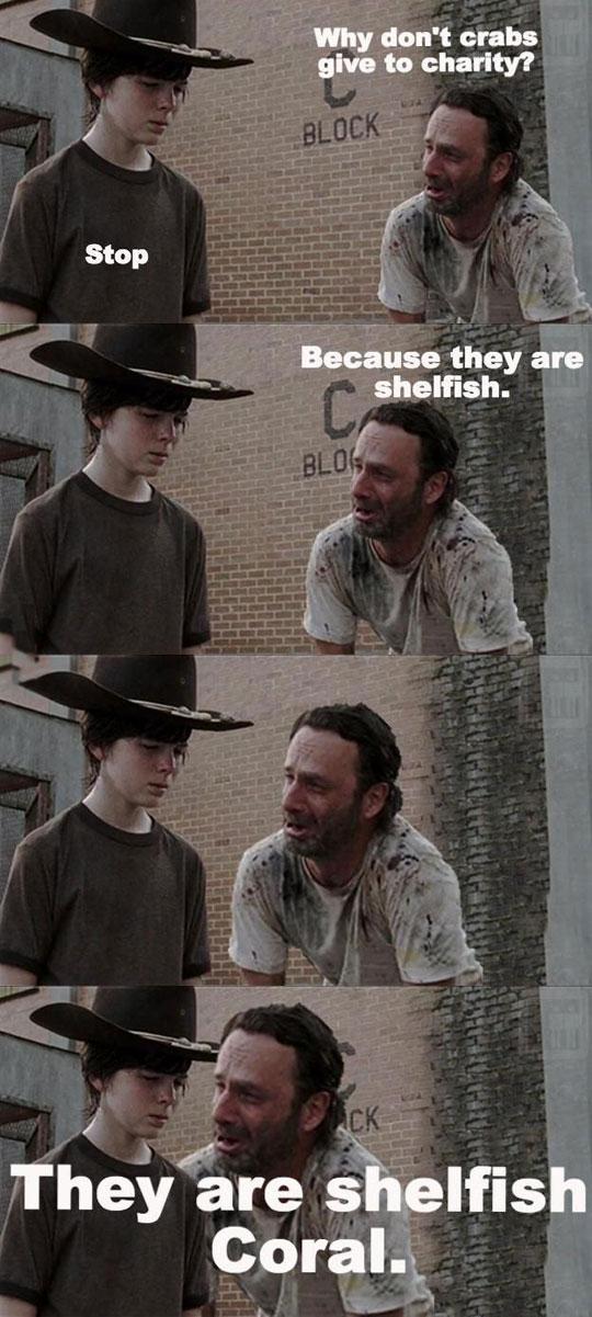 funny-Walking-Dead-shellfish-Carl