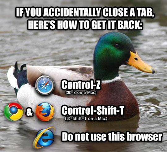 funny-advice-mallard-reopen-closed-tab