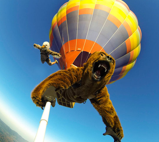 funny-animal-costume-jumping-parachute