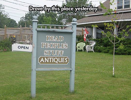 People Are Dying To Sell Their Antiques There