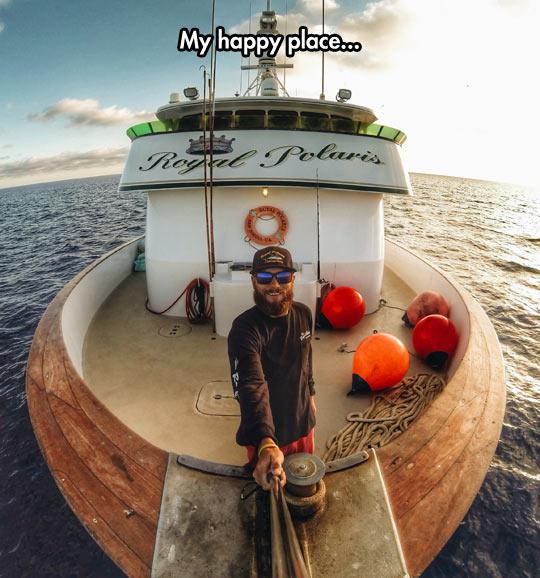 Happy Place Selfie