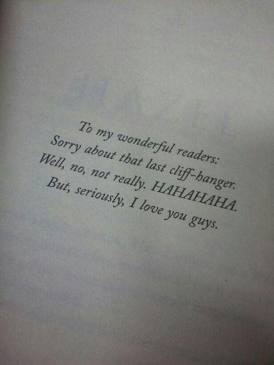 Best Author Ever