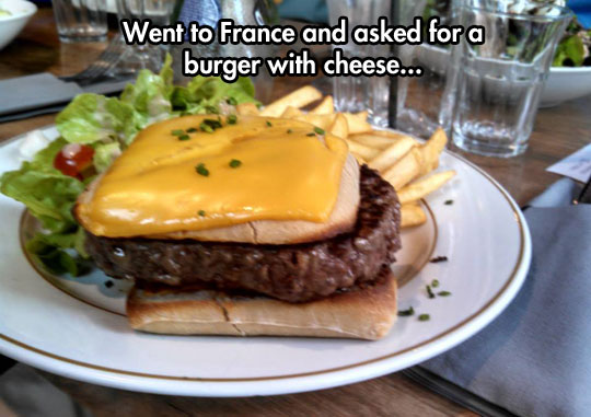 Burger Du Fromage