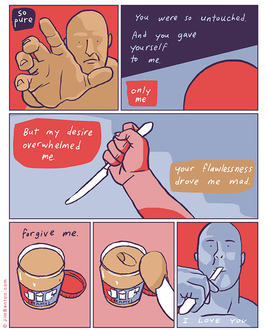 Forgive Me, I Love You comic