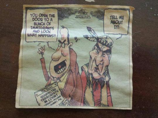 Old Comic Strip