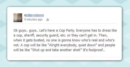 Cop Party