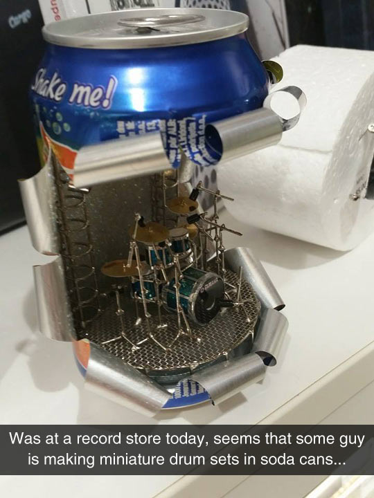 funny-drum-set-soda-cans-miniature