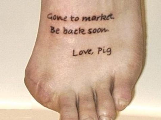 funny-finger-foot-pig-writing
