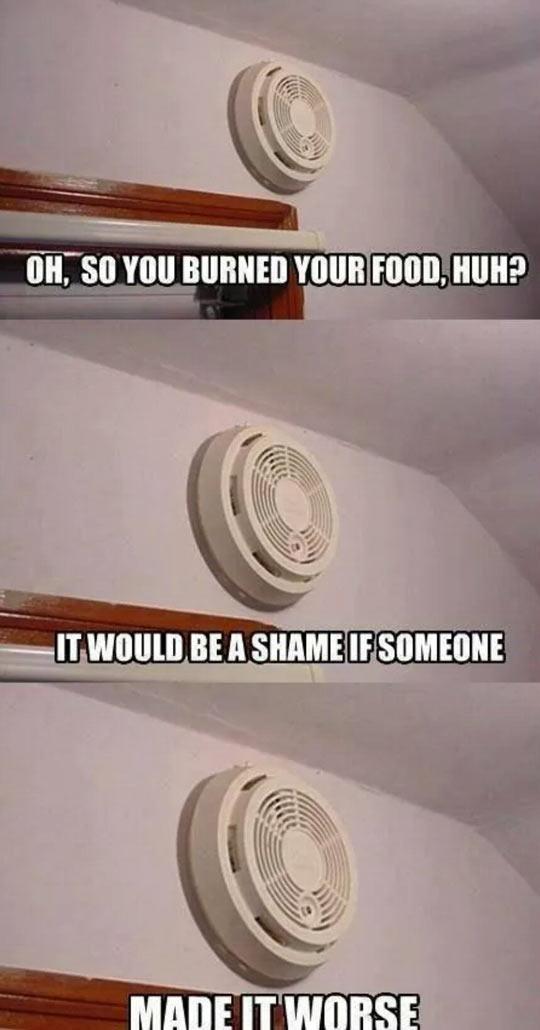 Burned Food, Huh?