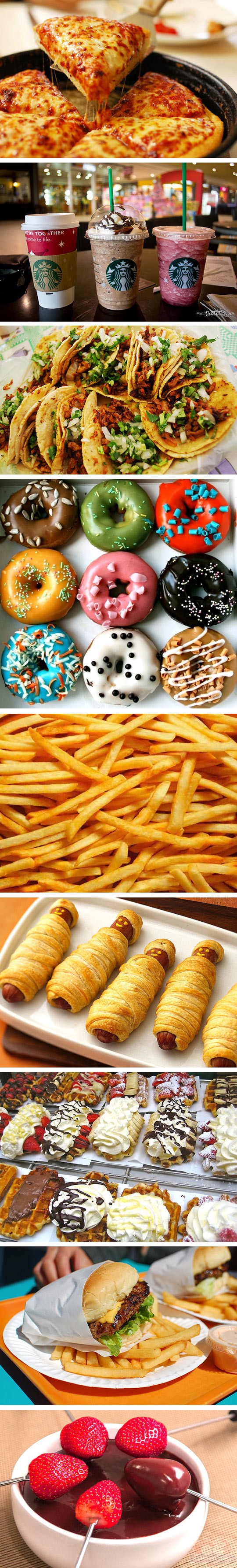 funny-food-pizza-latte-fries-burger