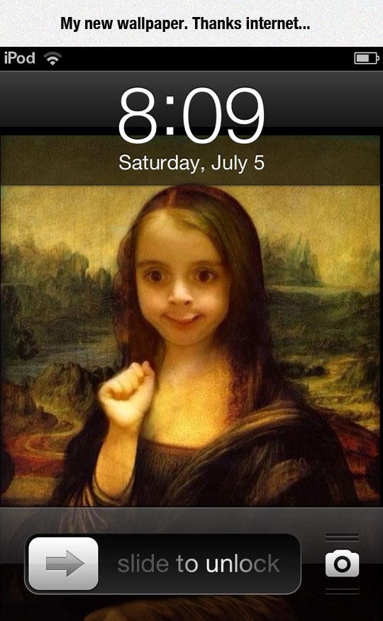 funny-girl-face-phone-wallpaper-Mona-Lisa