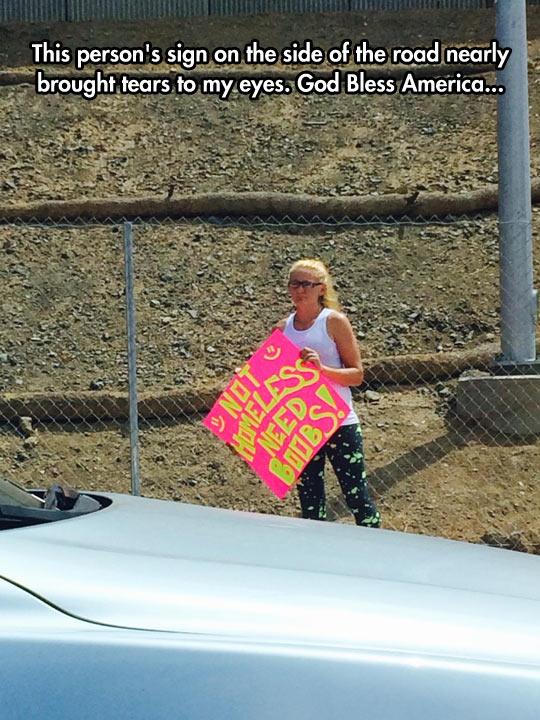 funny-girl-sign-street-homeless
