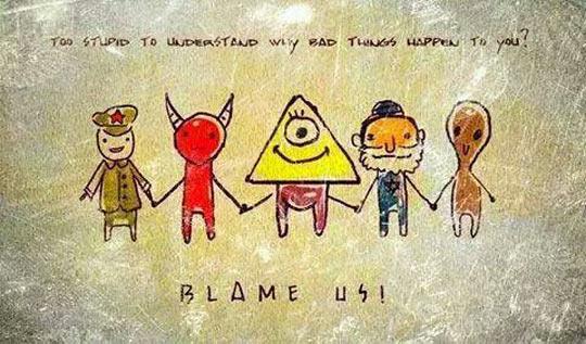 funny-god-devil-alien-war-comic-blame