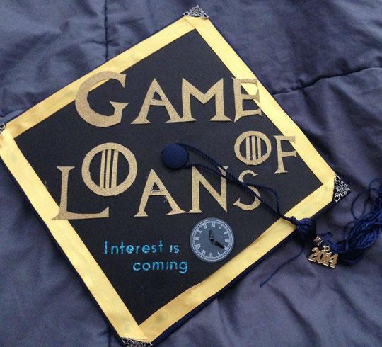 funny-graduation-cap-GoT-loan-interest