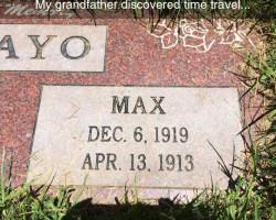 Time Traveler Grandpa