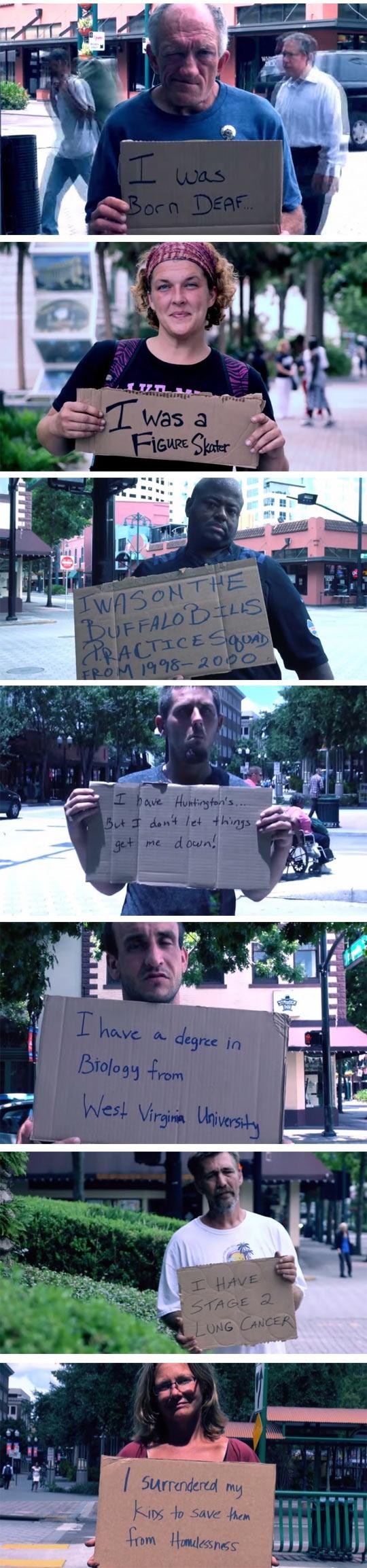 funny-homeless-cardboard-stories-street-university