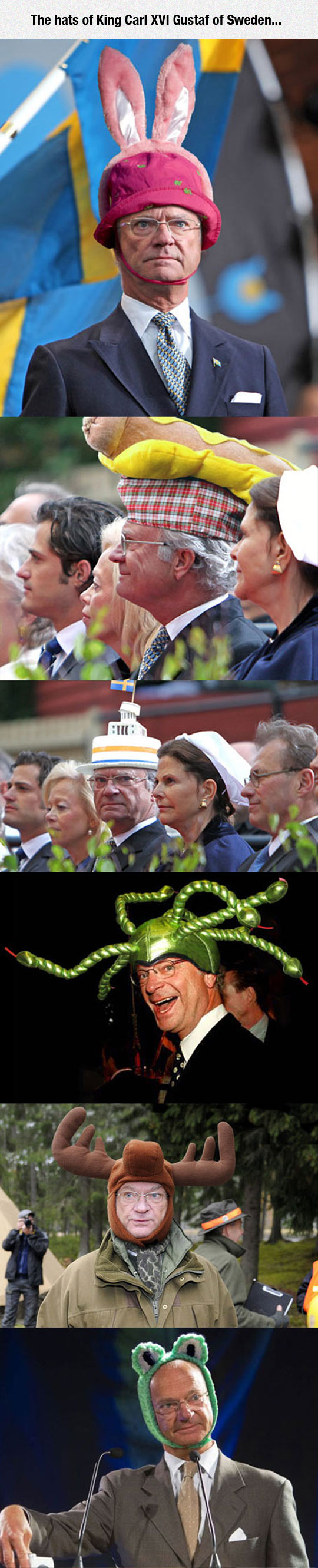 funny-king-Gustaf-Sweden-hat-rabbit