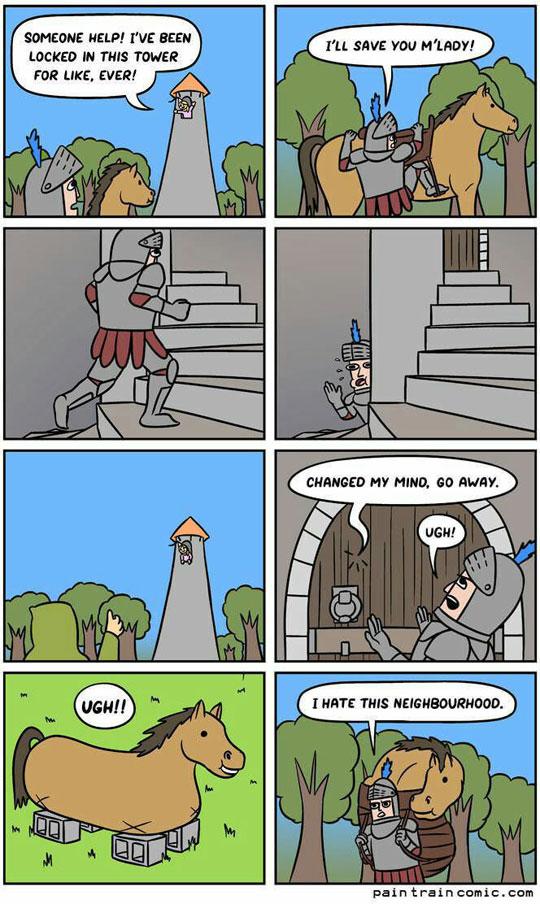funny-knight-bad-neighborhood-cartoon