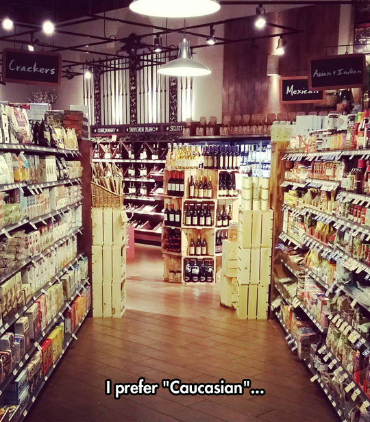 Supermarket Segregation