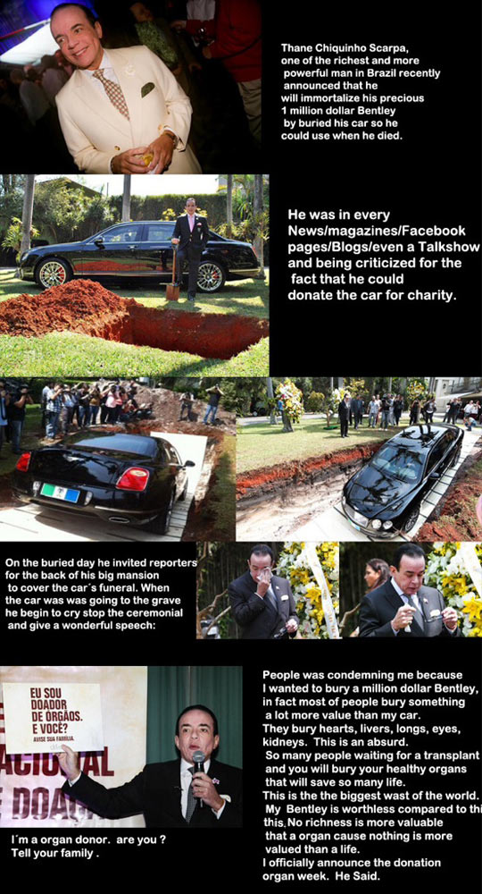 Burying A Car For A Good Reason
