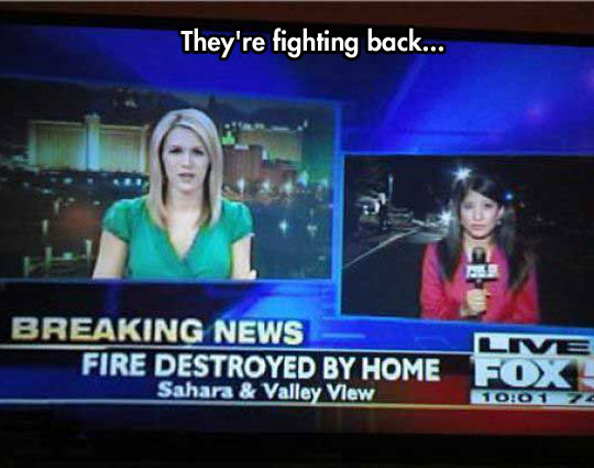 I Hope That Fire Had Home Insurance
