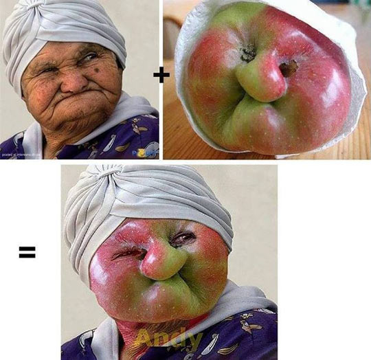 Granny Smith Face