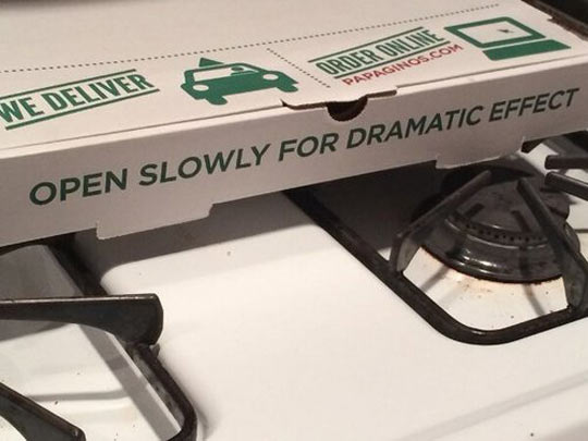 Instruction For Pizza
