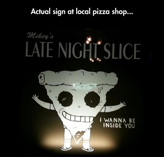 Creepy Pizza Slice