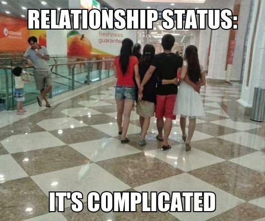 Relationship Status A Little More Than Complicated