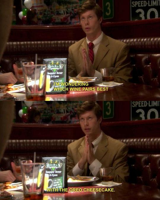funny-restaurant-booth-wine-waiter