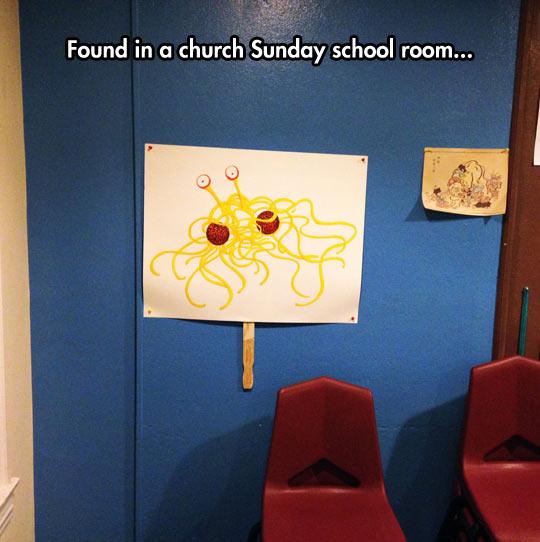 funny-sign-Spaghetti-Meatball-god-church