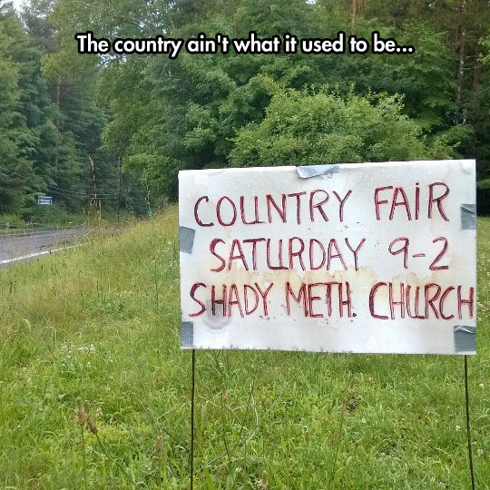 Country Fairs Have Changed