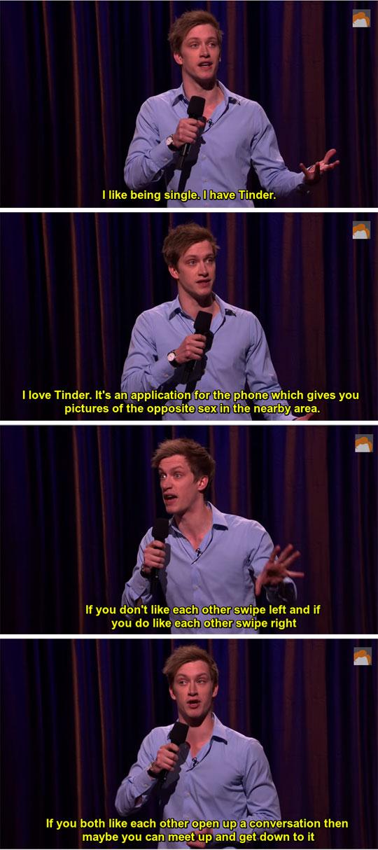 He Loves Tinder