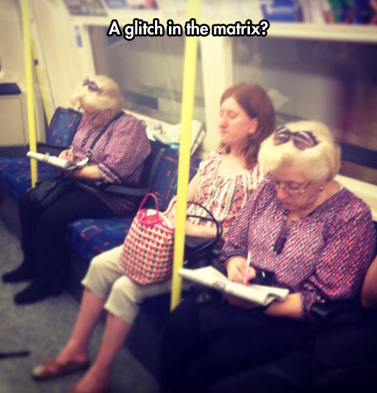 Another Glitch In The Matrix?