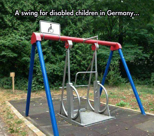 Swing For Wheelchair Users
