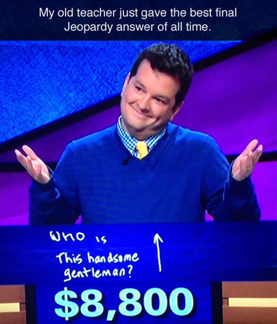 Examples Of Jeopardy Categories: Best Jeopardy Answer Of All Time