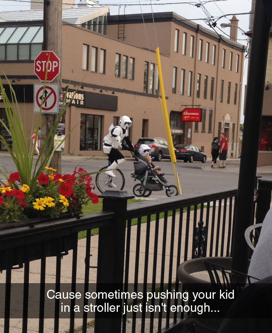 funny-unicycle-stroller-Star-Wars-Scout-Trooper
