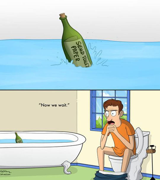 funny-water-tub-toilet-bottle-paper-comic