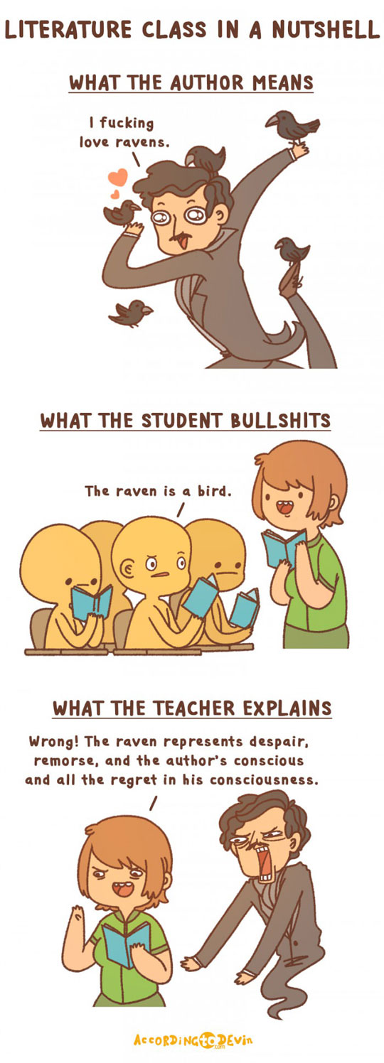 Literature Class In A Nutshell