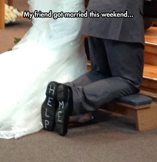 funny-wedding-shoes-asking-help