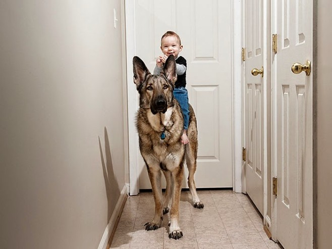 22 Little Kids And Their Big Dogs 14