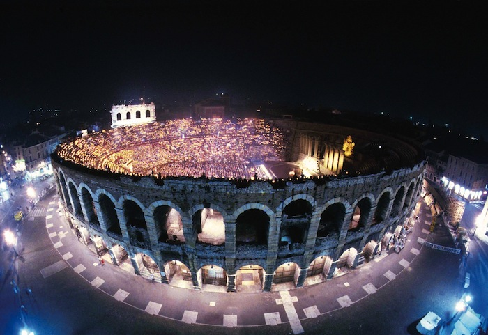 The 2000 year old Roman amphitheater still in use today